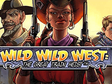 Wild Wild West: The Great Train Heist в казино Вулкан